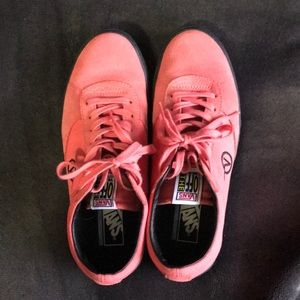 Vans Paradoxx Rose Colored Shoes